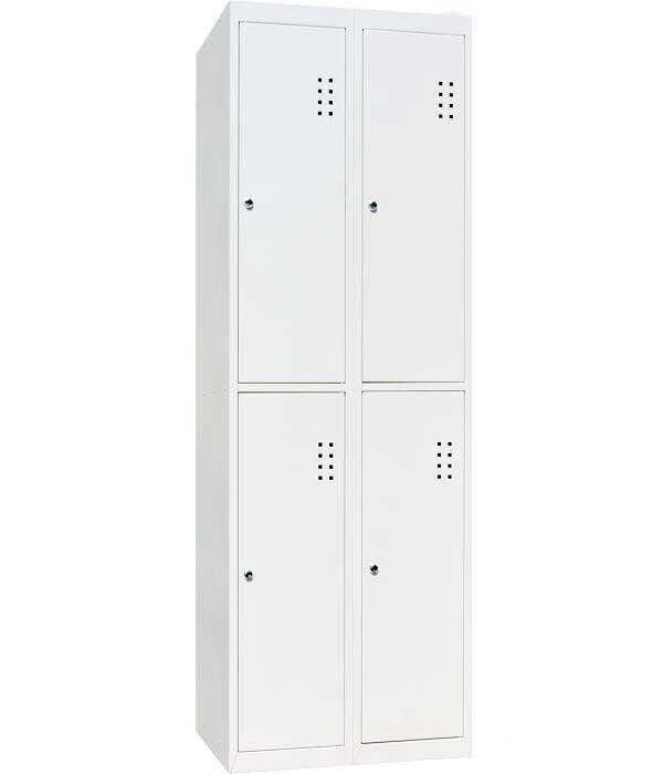 Шкаф для одежды металлический ШО-400/2-4