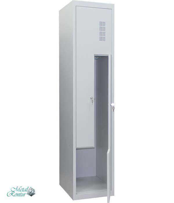 Шкаф для одежды металлический ШОМ-Г-400/1-2